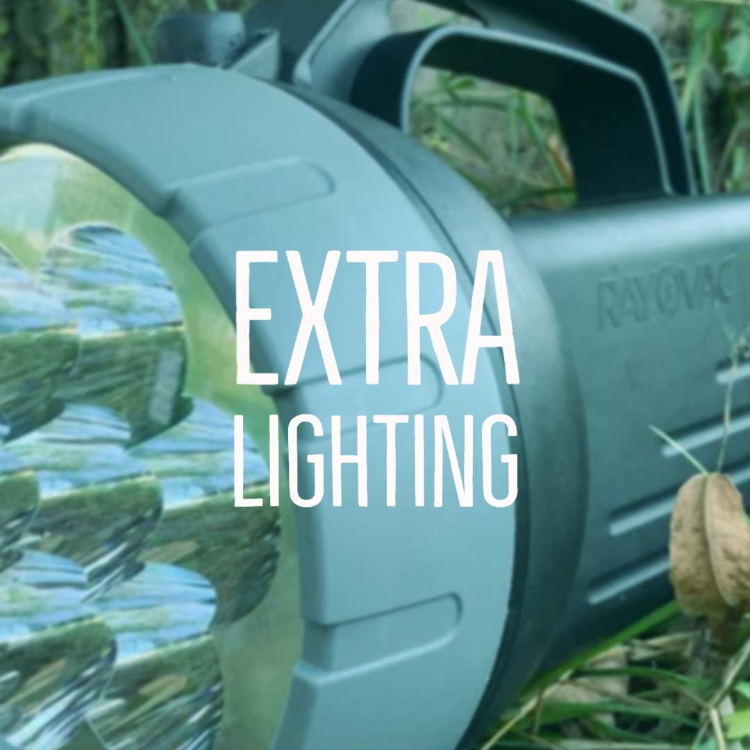 Extra lighting